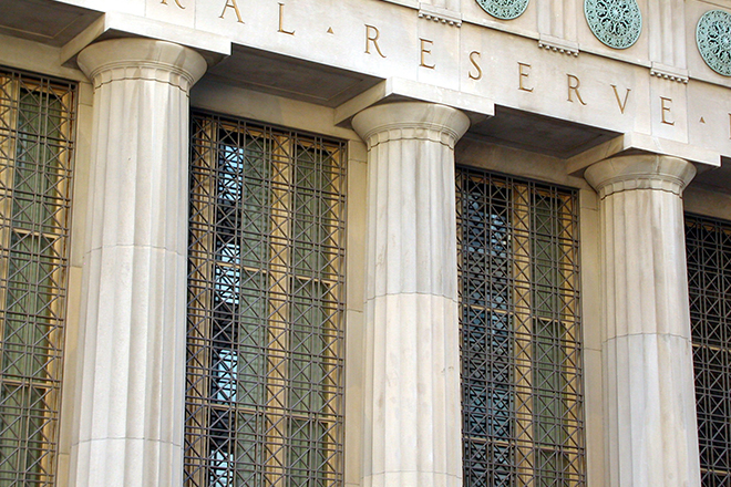 Federal Reserve forcefully reenters markets