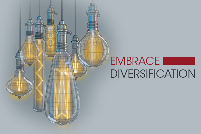 Embrace Diversification