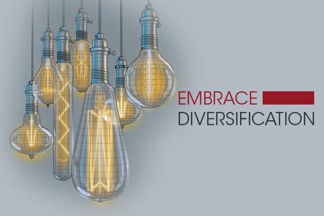 Embrace Diversification
