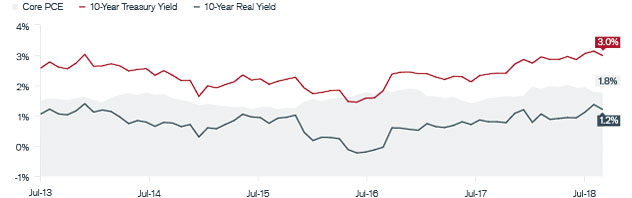 10-year U.S. Treasury Nominal & Real Yields | Janus Henderson Investors