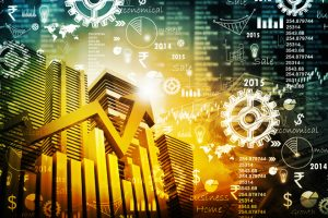 stock market graph numbers cogs