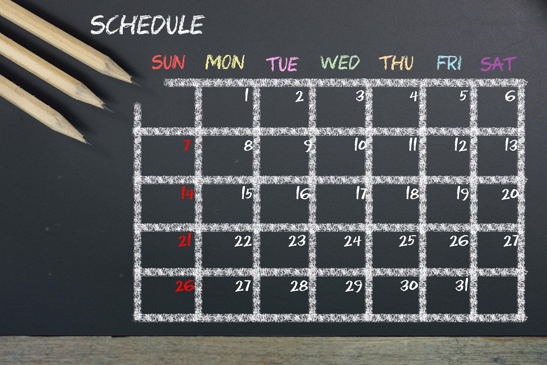 Portfolio rebalancing – pick a different day