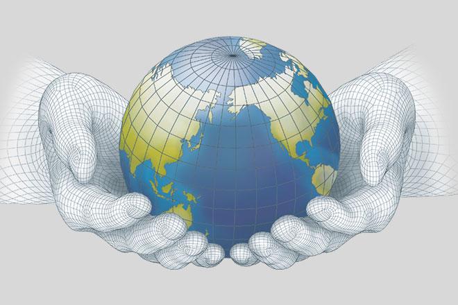 Globe_hands_grey_background