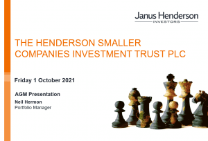 The Henderson Smaller Companies Investment Trust –  Fund Manager 2021 AGM presentation