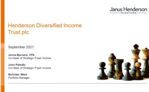 Henderson Diversified Income Trust – Fund Manager 2021 AGM presentation