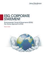 ESG Corporate Statement