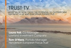 Trust TV: Value investing – UK & Europe