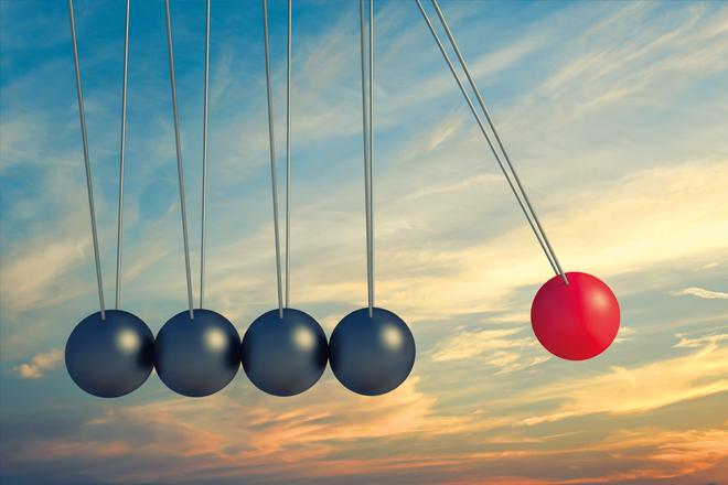 Gewinner und Verlierer im Disruptionspoker